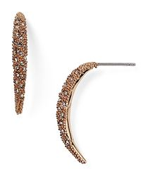 Alexis Bittar - Pink Miss Havisham Encrusted Arc Spear Drop Earring - Lyst