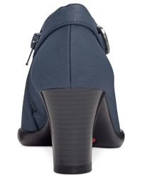 Aerosoles - Blue Cingle Handed Shooties, Only At Macy's - Lyst