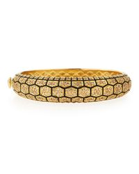 Roberto Coin | Yellow Tortoise Bracelet With Diamonds | Lyst