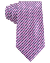 Michael Kors - Pink Michael Multi Pick Tile Tie for Men - Lyst