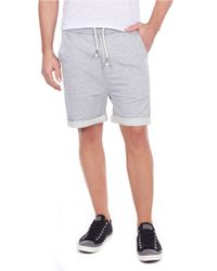 William Rast | Gray Knit Lounge Shorts for Men | Lyst