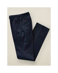 RRL - Blue Pinstriped Cotton Trouser for Men - Lyst