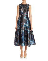 Lyst L K Bennett Floral Print Tea Dress