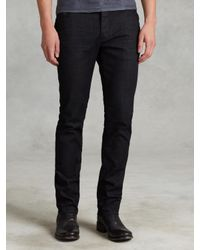 John Varvatos - Blue Woodward Jean for Men - Lyst