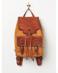 Free People | Brown Tracy Backpack | Lyst
