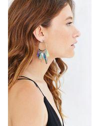 Venessa Arizaga | Multicolor Stellar Hoop Earring | Lyst