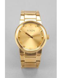 Nixon | Metallic Cannon Watch | Lyst