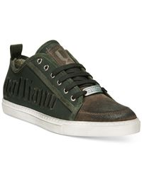 John Galliano | Green Embossed Sneakers for Men | Lyst