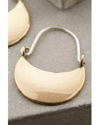 Winifred Grace | Metallic Crescent Moon Earrings | Lyst