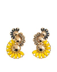 Anton Heunis | Yellow Triple Dome Zulu Goddess Earcuffs | Lyst