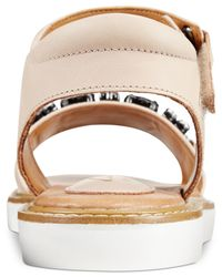 Clarks - Natural Artisan Women's Lydie Joelle Flat Sandals - Lyst
