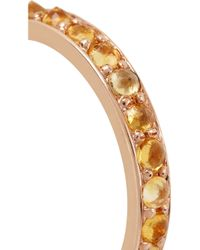 Katie Rowland | Pink Salome Rose Gold-tone Citrine Ring | Lyst