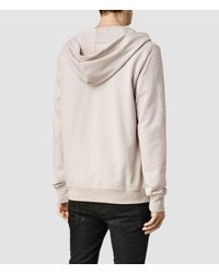 AllSaints - Natural Orian Hoody for Men - Lyst