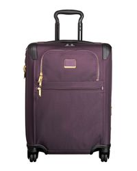 Tumi - Purple Alpha 2 Aubergine Continental Expandable 4-wheel Carry-on - Lyst