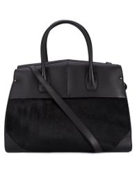 Narciso Rodriguez - Black Contrast Tote Bag - Lyst
