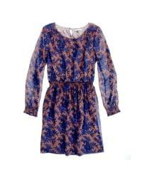 Madewell | Blue Paisley Bloom Dress | Lyst