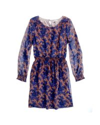 Madewell - Blue Paisley Bloom Dress - Lyst