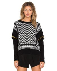 Sass & Bide - Rebel Prints Sweater - Black/white - Lyst
