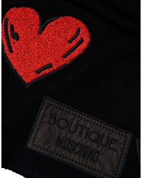 Boutique Moschino - Black Scarf - Lyst