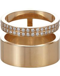 Repossi | Metallic Women's Berbere Module Midi Cage Ring | Lyst