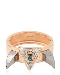 Mawi | Metallic Deco Fang Prism Bracelet | Lyst