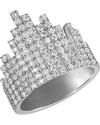 Messika | Metallic Daria 18ct White-gold And Diamond Ring | Lyst