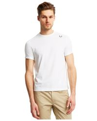 Kenneth Cole Reaction | White Mesh Logo T-shirt for Men | Lyst