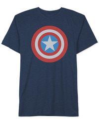 Jem - Blue Captain Sheild T-shirt for Men - Lyst