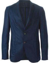 Tonello - Blue Patch Pockets Blazer for Men - Lyst