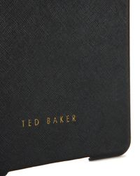 Ted Baker | Black Crosshatch Mini Ipad Case | Lyst