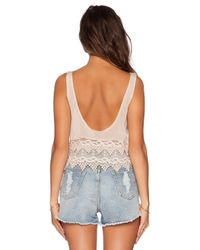 Winston White - Natural Carson Tank - Lyst