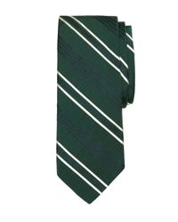 Brooks Brothers - Green Quad Stripe Tie for Men - Lyst