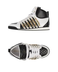 DSquared² - Black High-tops & Trainers - Lyst