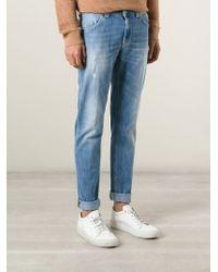 Dondup - Blue 'Ramones' Jeans for Men - Lyst