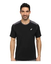 Asics - Black Pr Lyte™ Short Sleeve for Men - Lyst
