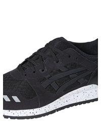 Asics - Black Gel-lyte Iii Mesh Sneakers - Lyst