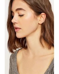 Urban Outfitters | Pink Pretty Rose Gold Ear Climber | Lyst