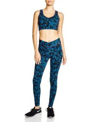 Yummie By Heather Thomson - Black Sports Bra - Cotton Wow Racerback #ya7-001 - Lyst