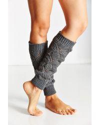 Urban Outfitters - Gray Knit Legwarmer - Lyst