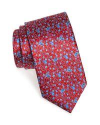 Ermenegildo Zegna | Red Floral Paisley Silk Tie for Men | Lyst