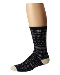 Obey | Blue Pitch Socks for Men | Lyst