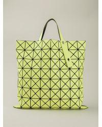 Bao Bao Issey Miyake | Yellow 'W' Geometric Tote | Lyst