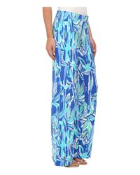 Lilly Pulitzer | Blue Georgia May Palazzo | Lyst