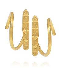 Maria Black | Metallic Klaxon Gold-Plated Earrings | Lyst