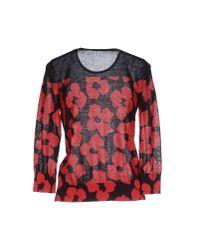 Dries Van Noten - Red Sweater - Lyst