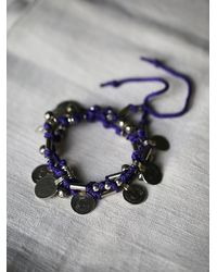 Free People | Purple Born Free Wrap Bracelet | Lyst