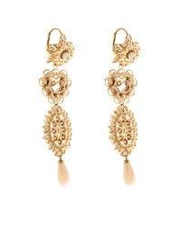 Isabel Marant   Metallic San Pedro Long Drop Earrings   Lyst