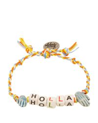 Venessa Arizaga - Yellow Holla Bracelet - Lyst