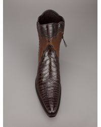 Stallion Boots & Leather Goods - Brown Zorro Gallegos Boots - Lyst
