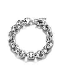 John Hardy - Metallic Small Link Bracelet - Lyst